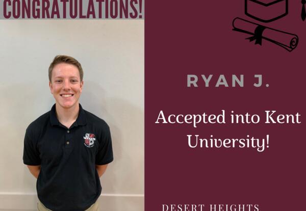 Congratulations Ryan!
