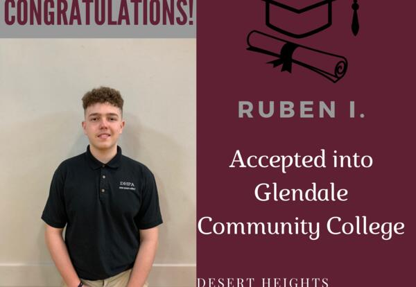 Congratulations Ruben