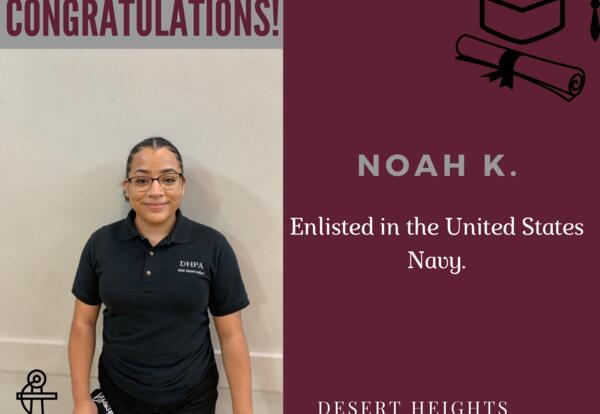 Congratulations Noah!