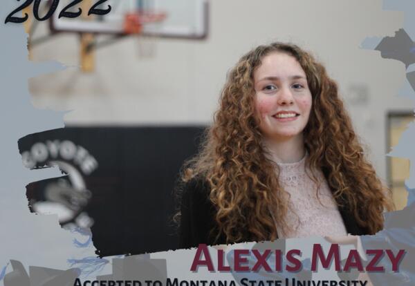 Congratulations Alexis!!