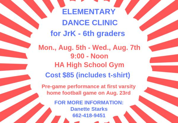 Elementary Dance Clinic - 2019