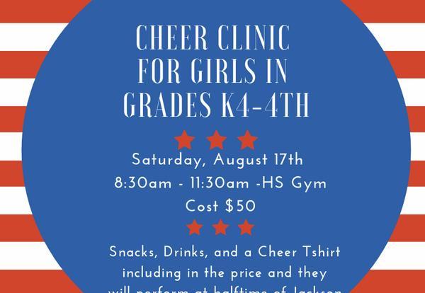 Elementary Cheer Clinic 2019