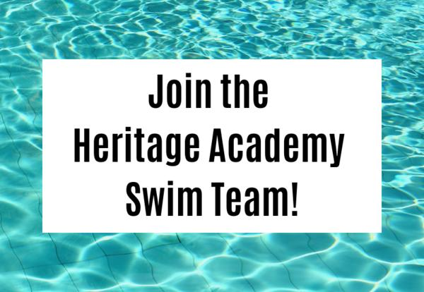 Join the Heritage Academy Swim Team