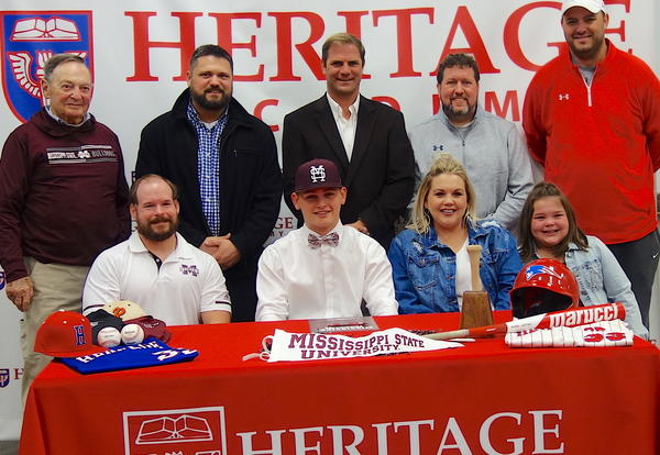 Berry Signs Baseball Letter of Intent
