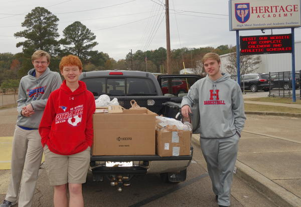 HA Lends a Helping Hand with Canned Food Drive