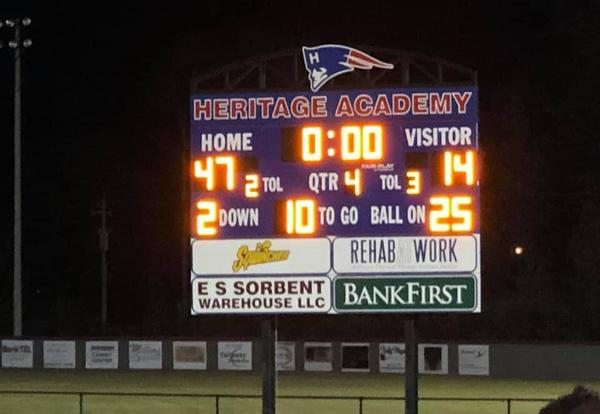Undefeated HA Varsity Football Team to play in State Championship Nov. 22