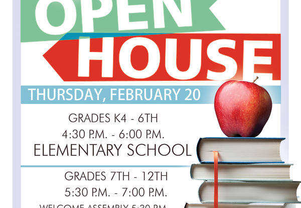 Heritage Academy Open House this Thursday!