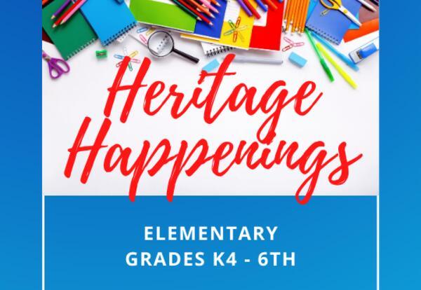 Heritage Happenings - Elementary