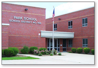 Park Elementary School - Front Photo