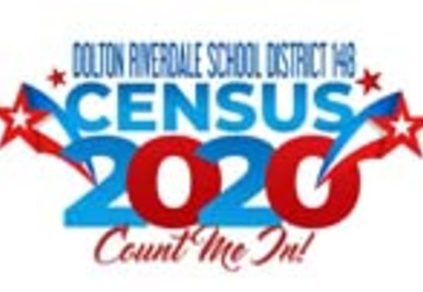 Dolton Riverdale SD 148 Census 2020 logo