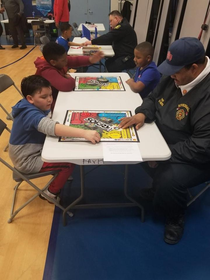 Fire Chief Smith Playing Sorry