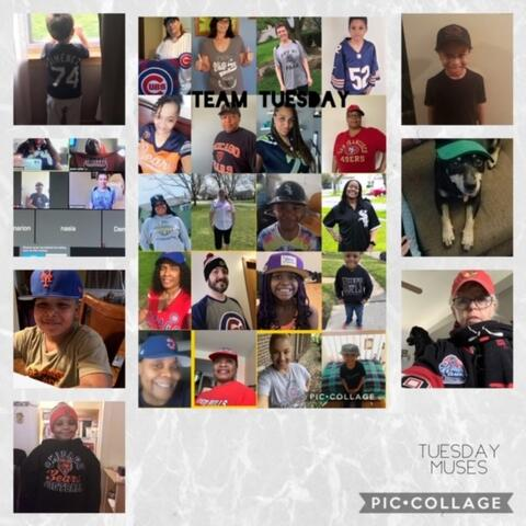 Team Tuesday Photo Collage