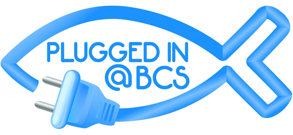 Plugged in @BCS logo