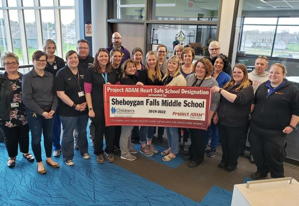 SFSD Named Heart Safe School District by Project ADAM