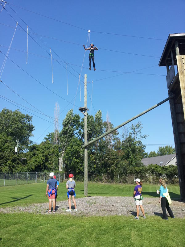 Rec Department - Ropes Course photo