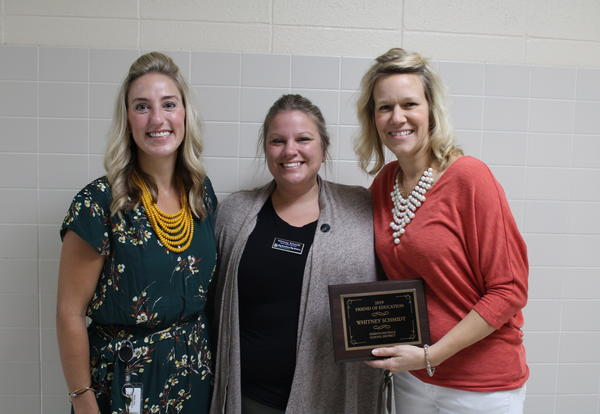 Friend of Education Awarded to Whitney Schmidt