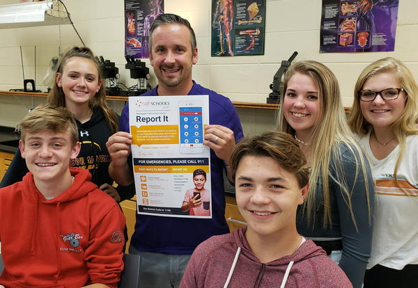 District uses tipline to ensure staff and student safety