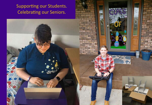 Sheboygan Falls High School Seniors Persevere during Virtual Learning Days