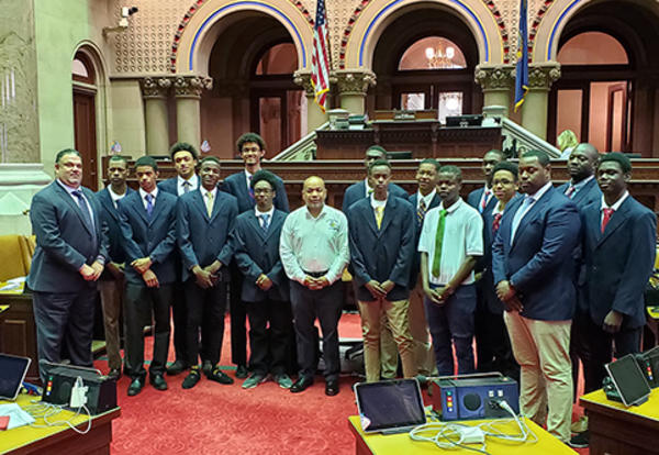Assembly speaker inspires Albany High leaders