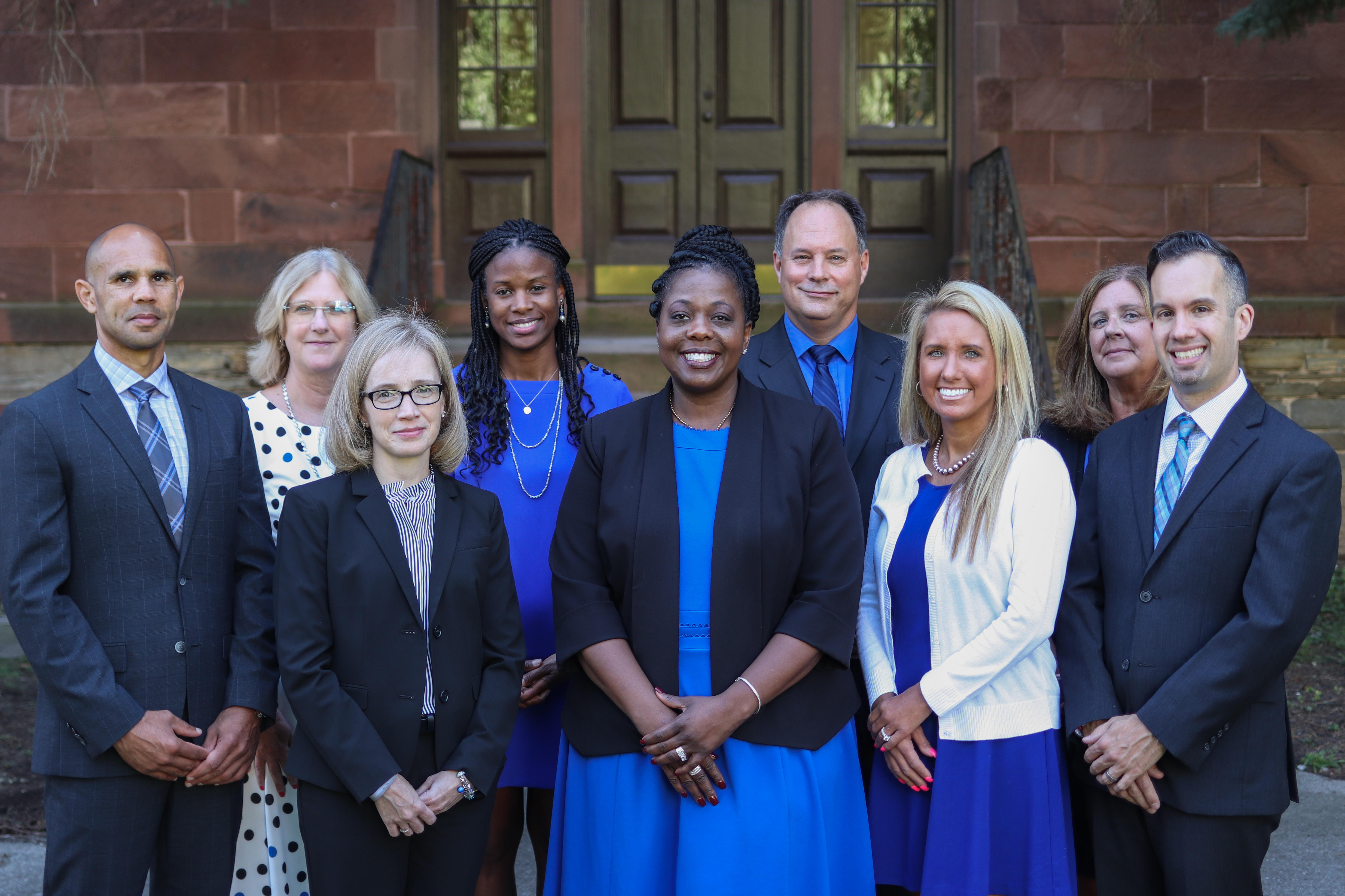 City School District of Albany superintendent and cabinet.