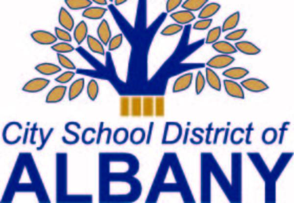 The City School District of Albany tree logo.