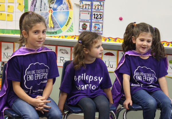 Ila, Nova and Willow Buyce teach about epilepsy