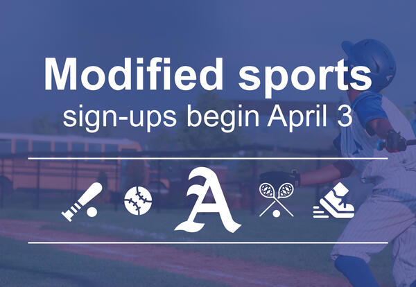 Modified sports graphic.