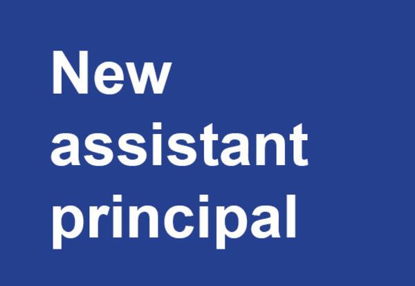 New assistant principal