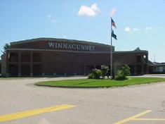 Image showing the front of Winnacunnet High School