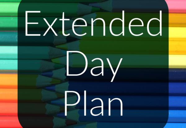 LAS Extended Day Plan Image with Colored Pencils