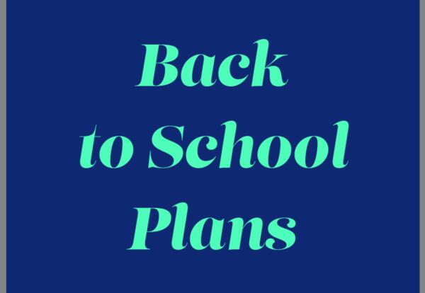 Back to School 2021-22
