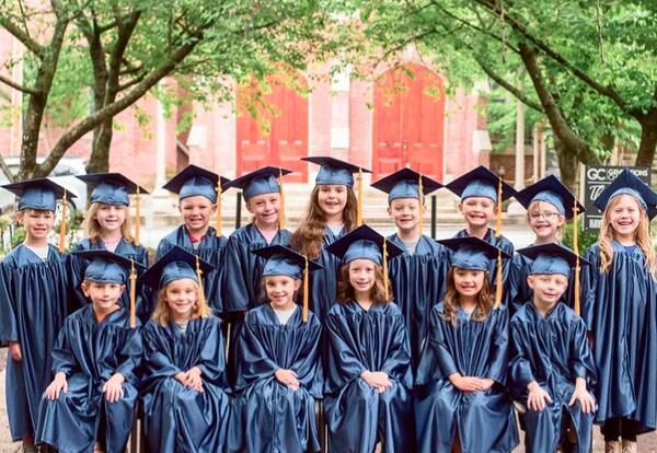 Kindergarten Graduating Class of 2021