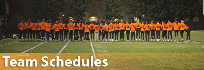 Team Schedules Information for Oak Park and River Forest