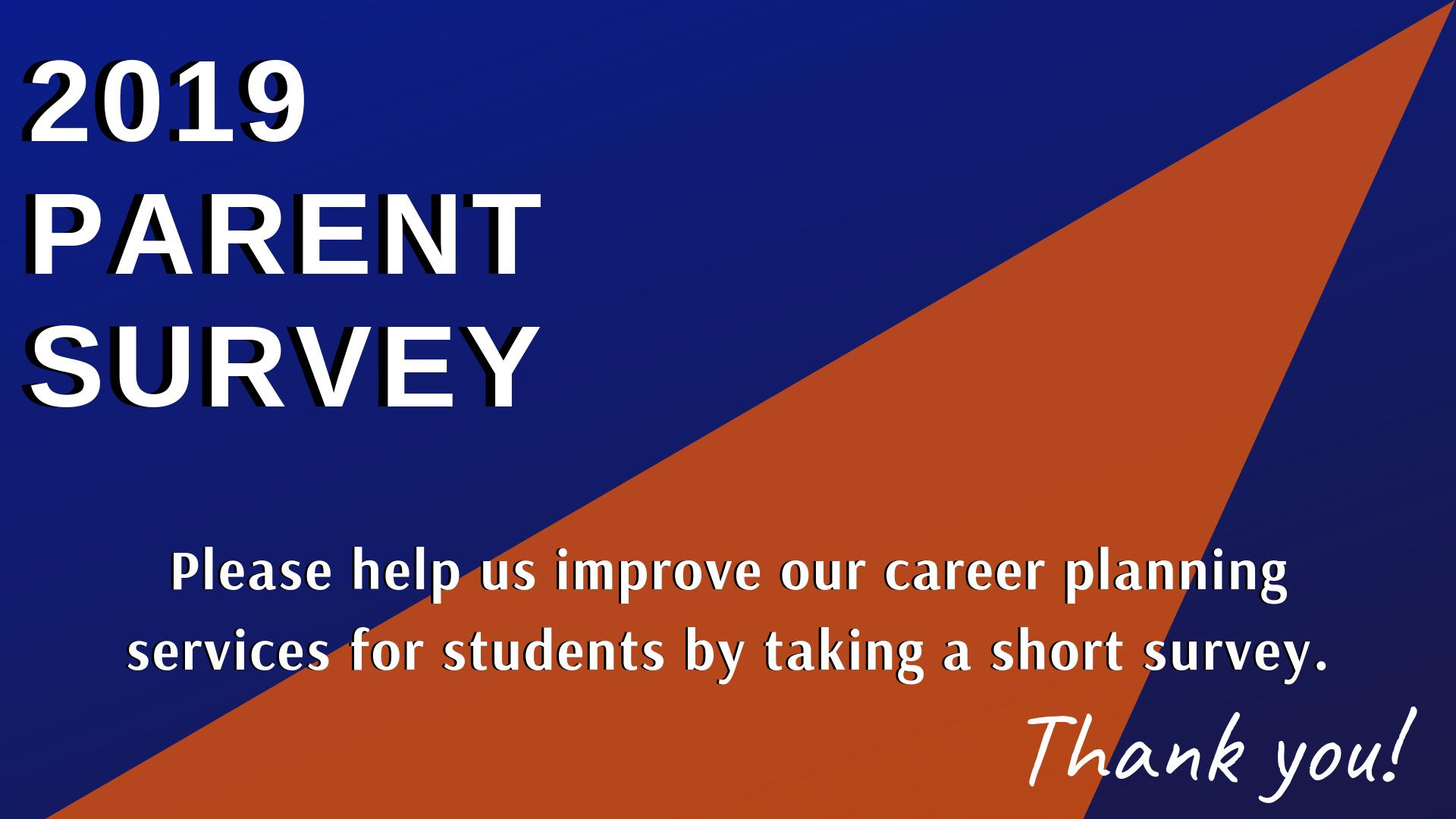 Thank you for completing the Parent Survey!
