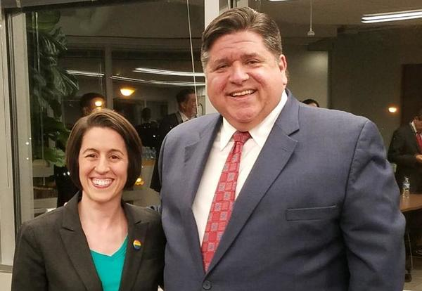OPRF's Colamussi and Affirming, Inclusive Schools Task Force deliver report to Gov. Pritzker