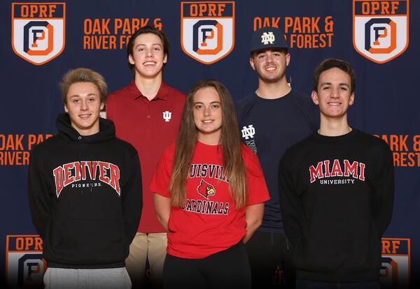 OPRF student-athletes commit to play at the college level