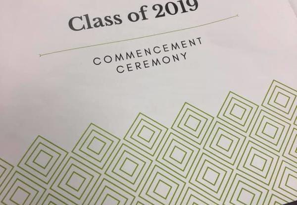 Celebrating 2019 graduating class