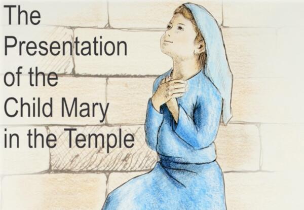 Child Mary Presentation