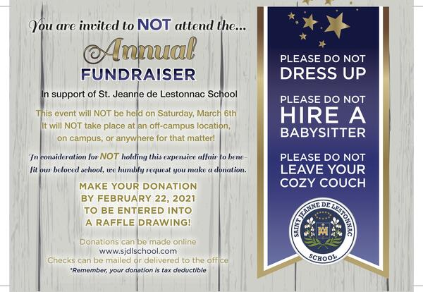 Fall Fundraiser - Donation Information and Form