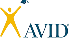 We're an AVID-Driven School (logo)