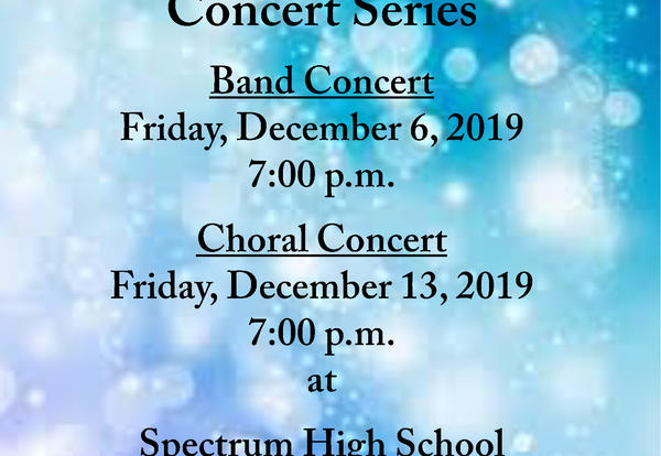 Winter Fine Arts Concert Series!