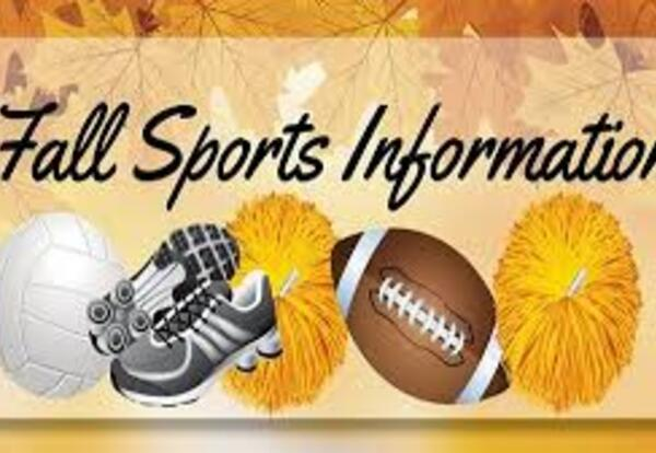 Fall Sports Meeting - August 10th - UPDATE on 8/6/2020
