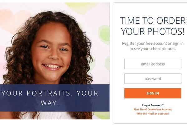 School Portrait Photos Are Ready!