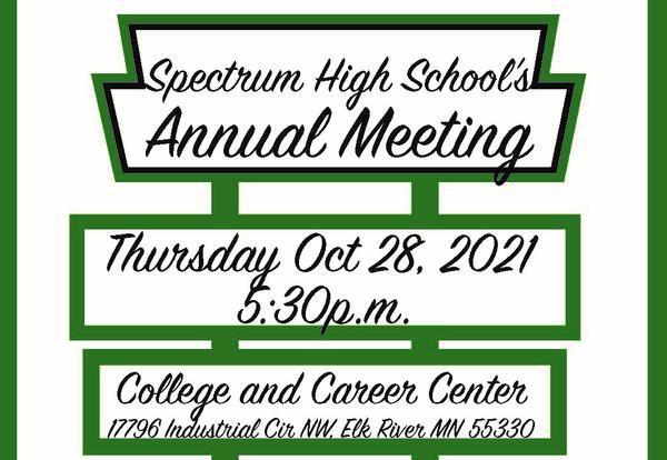 Spectrum's 2021 Annual Meeting