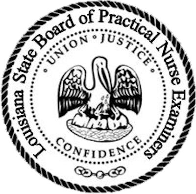 Louisiana State Board of Practical Nurse Examiners logo