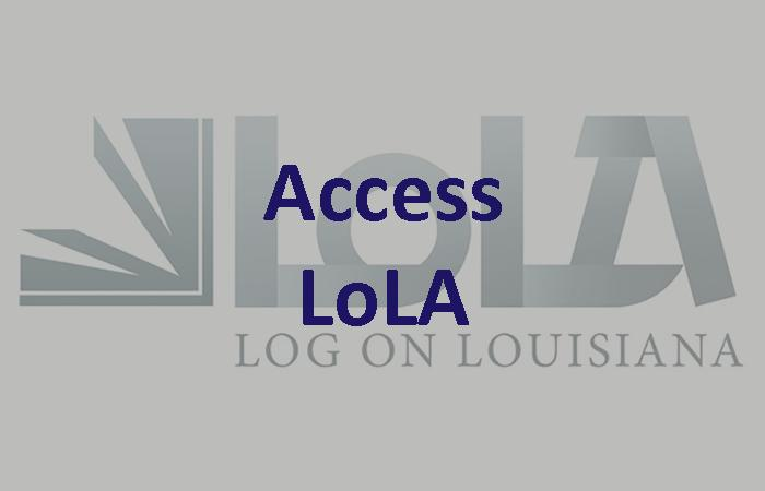 Financial Aid: Access LoLA