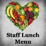 Staff lunch menu icon