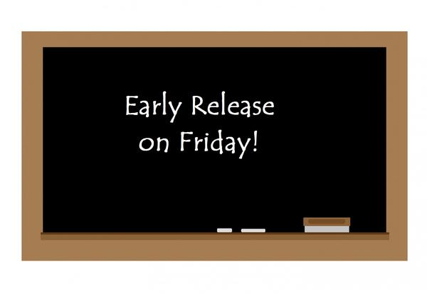 Early Release Friday, March 5, 2021