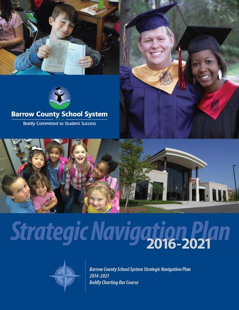 Front Cover of Strategic Navigation Plan 2016-2021