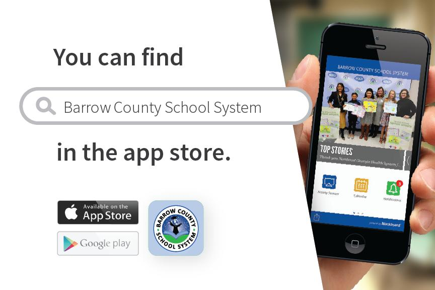 You can find Barrow County School System in the app store.